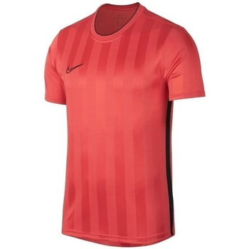 Clothing Men short-sleeved t-shirts Nike Breathe Academy Top SS GX2 Red