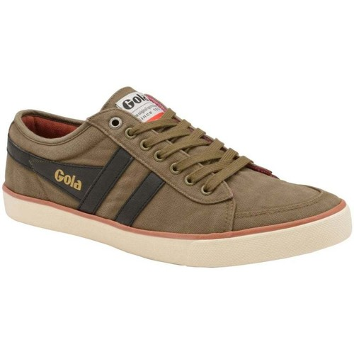 Shoes Men Low top trainers Gola Comet Mens Canvas Trainers green