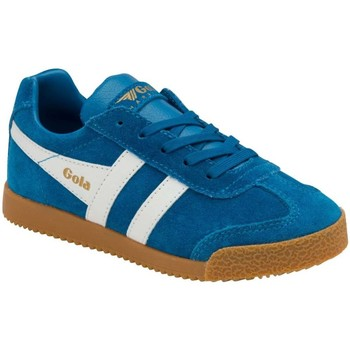 Shoes Children Low top trainers Gola Harrier Kids Trainers blue