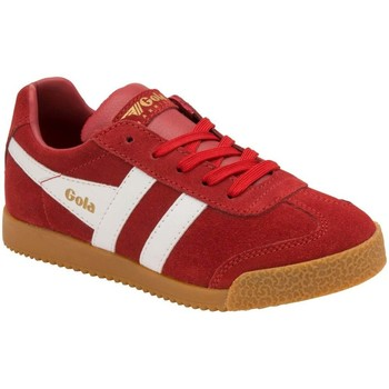 Shoes Children Low top trainers Gola Harrier Kids Trainers red