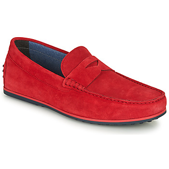 Shoes Men Loafers André SKY Red