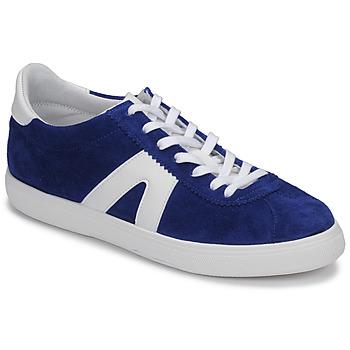 Shoes Men Low top trainers André GILOT 2 Blue