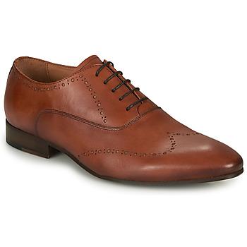 Shoes Men Brogues André DOWNTOWN Cognac