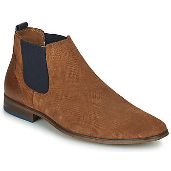 Shoes Men Derby Shoes André WALOU Cognac