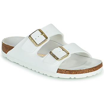 Shoes Women Mules Birkenstock ARIZONA White / Gold