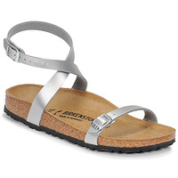 Shoes Women Sandals Birkenstock DALOA Silver