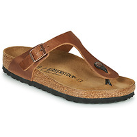 Shoes Women Flip flops Birkenstock GIZEH Antique / Brown