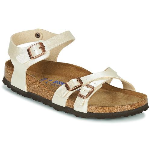 Shoes Women Sandals Birkenstock KUMBA SFB Beige