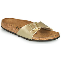 Shoes Women Mules Birkenstock MADRID Gold / Gold