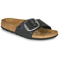 Shoes Women Mules Birkenstock MADRID BIG BUCKLE Grey / Dark