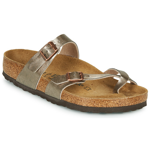Shoes Women Mules Birkenstock MAYARI Bronze