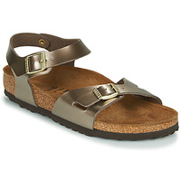 Shoes Women Sandals Birkenstock RIO Bronze