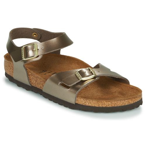 Shoes Women Sandals Birkenstock RIO Bronze