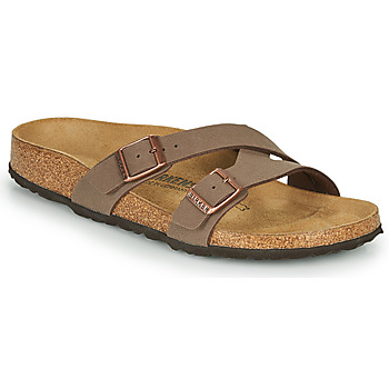 Shoes Women Mules Birkenstock YAO BALANCE Brown