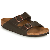Shoes Men Mules Birkenstock ARIZONA LEATHER Brown