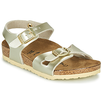 Shoes Girl Sandals Birkenstock RIO Gold