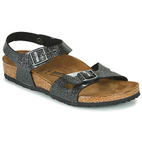 Shoes Girl Sandals Birkenstock RIO Black