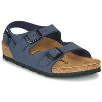 Shoes Boy Sandals Birkenstock ROMA Marine