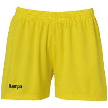 Clothing Women Shorts / Bermudas Kempa Short femme  Classic jaune citron