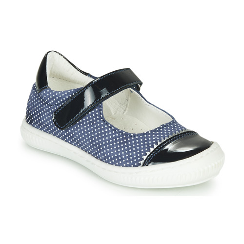 Shoes Girl Flat shoes André ISALIE Marine