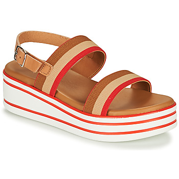 Shoes Girl Sandals André MAIWENN Brown