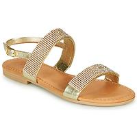 Shoes Girl Sandals André DORIANNE Gold