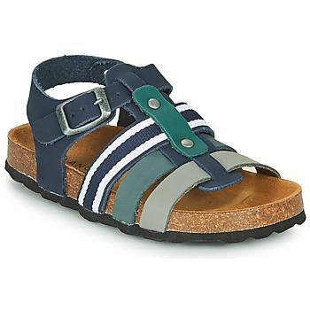 Shoes Boy Sandals André TRISTAN Marine