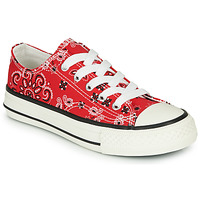 Shoes Boy Low top trainers André VOILY Red