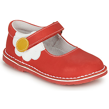 Shoes Girl Flat shoes André PAQUERETTE Red