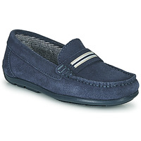 Shoes Boy Loafers André ROMARIN Marine