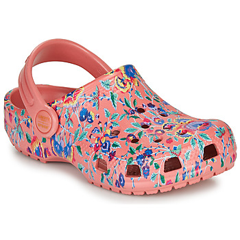 Shoes Women Clogs Crocs LIBERTY LONDON X CLASSIC LIBERTY GRAPHIC CLOG K Pink