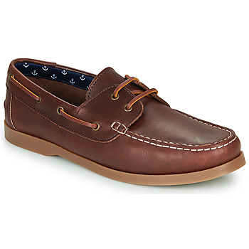 Shoes Men Boat shoes André NAUTING Brown
