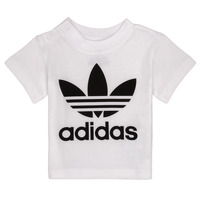 Clothing Children Short-sleeved t-shirts adidas Originals MAELYS White