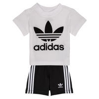 Clothing Children Sets & Outfits adidas Originals CAROLINE White / Black