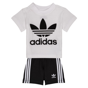 Clothing Boy Sets & Outfits adidas Originals CAROLINE White / Black