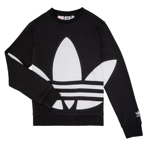 Clothing Children Sweaters adidas Originals BRIGDA Black