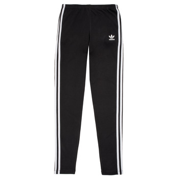 Clothing Girl Leggings adidas Originals BRIDGER Black
