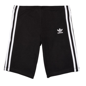 Clothing Girl Shorts / Bermudas adidas Originals EDDY Black