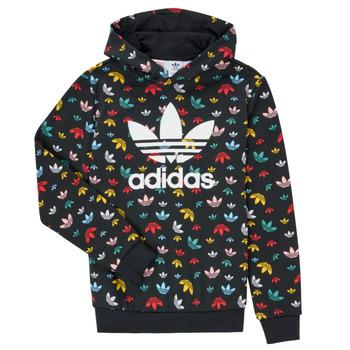 Clothing Girl Sweaters adidas Originals DLIA Black