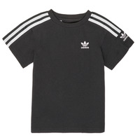 Clothing Boy Short-sleeved t-shirts adidas Originals MINACHE Black