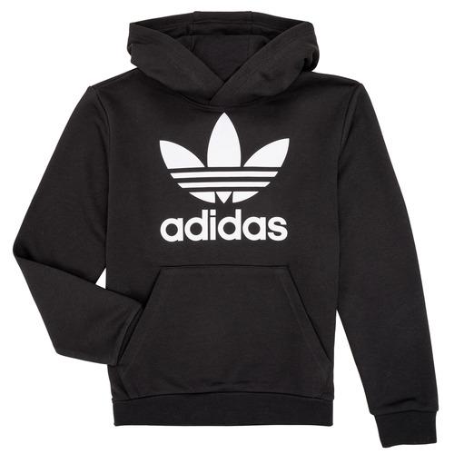 Clothing Children Sweaters adidas Originals ZACK Black