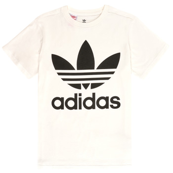 Clothing Children Short-sleeved t-shirts adidas Originals SARAH White
