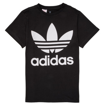 Clothing Children short-sleeved t-shirts adidas Originals MAXENCE Black