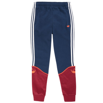 Clothing Boy Tracksuit bottoms adidas Originals MEGANE Marine