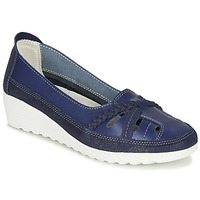 Shoes Women Flat shoes Damart MILANI Marine