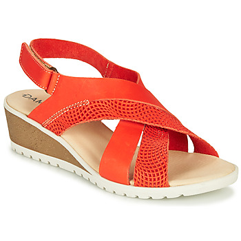 Shoes Women Sandals Damart MAYLO Tart / golden