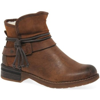 Shoes Women Mid boots Rieker Eaton Womens Casual Ankle Boots brown