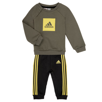 Clothing Boy Sets & Outfits adidas Performance MERLO Grey / Yellow