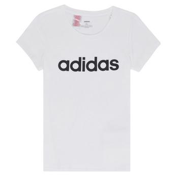 Clothing Girl short-sleeved t-shirts adidas Performance NELIZO White