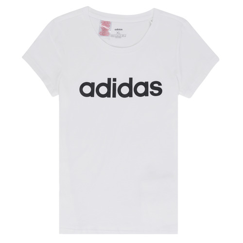 Clothing Girl Short-sleeved t-shirts adidas Performance NELIZO White